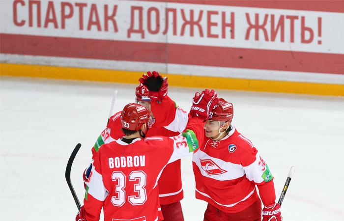 """ХК """"Спартак"""" объявил о возобновлении выступлений в КХЛ"""