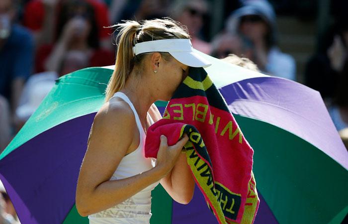 Мария Шарапова проиграла Серене Уильямс в полуфинале Уимблдона