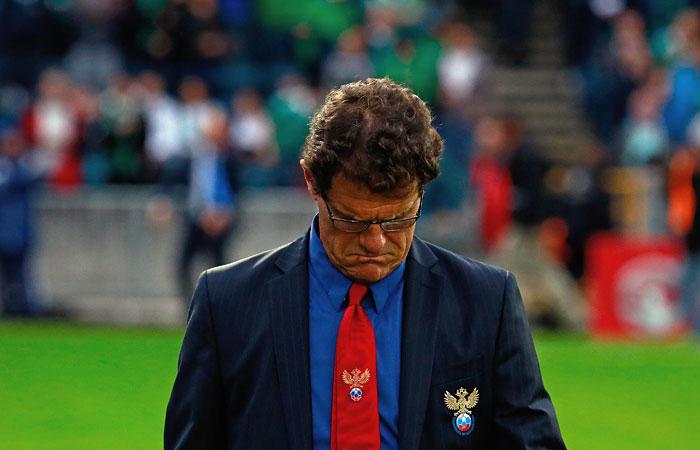 Капелло покинул пост главного тренера сборной России по футболу