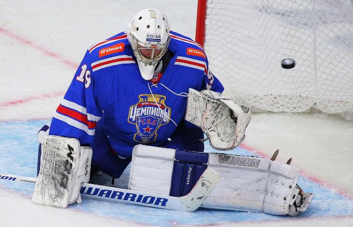 Хоккеисты ЦСКА победили СКА в стартовом матче чемпионата КХЛ