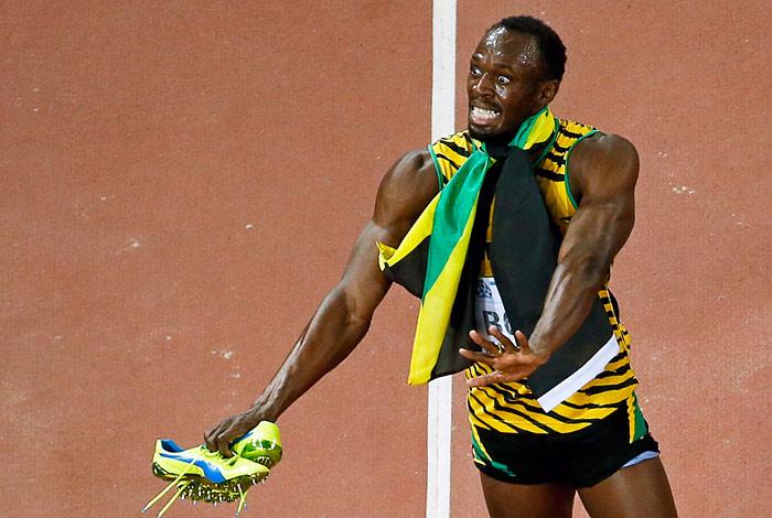 Усэйн Болт  стал 10-кратным чемпионом мира по легкой атлетике