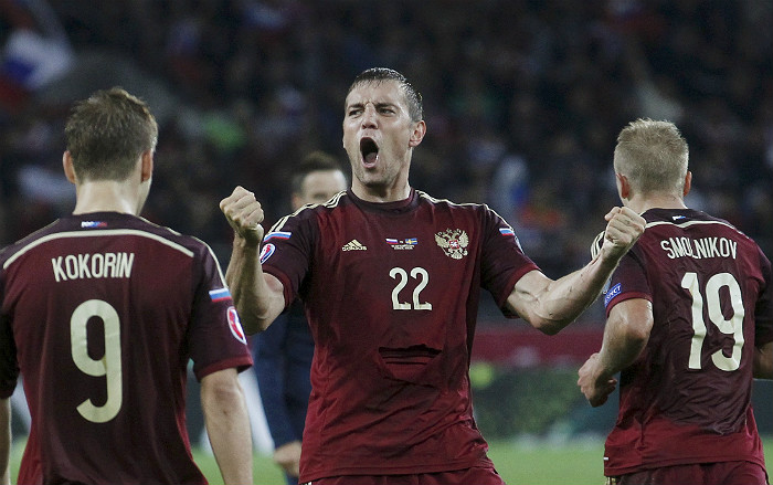 Сборная России обыграла Швецию в отборочном матче Евро-2016