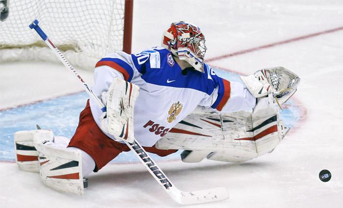 Назван состав сборной России на матчи Еврохоккейтура с Чехией