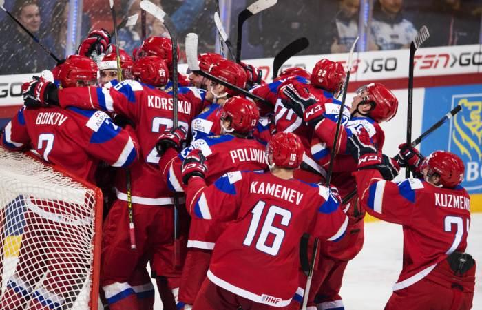 Россия победила США в полуфинале молодежного ЧМ по хоккею