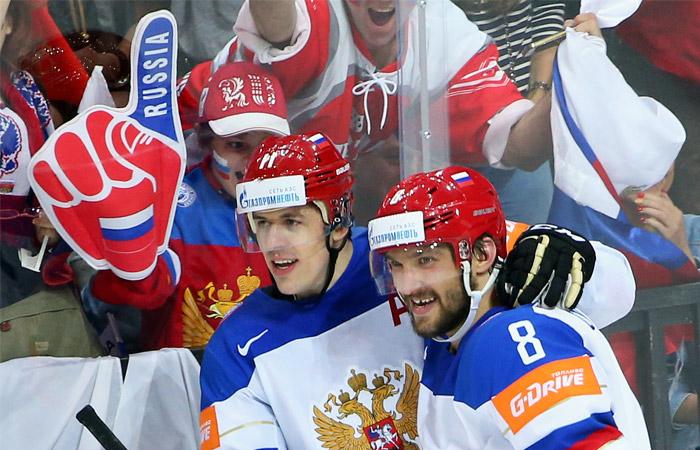 Обнародован состав сборной России на Кубок мира по хоккею