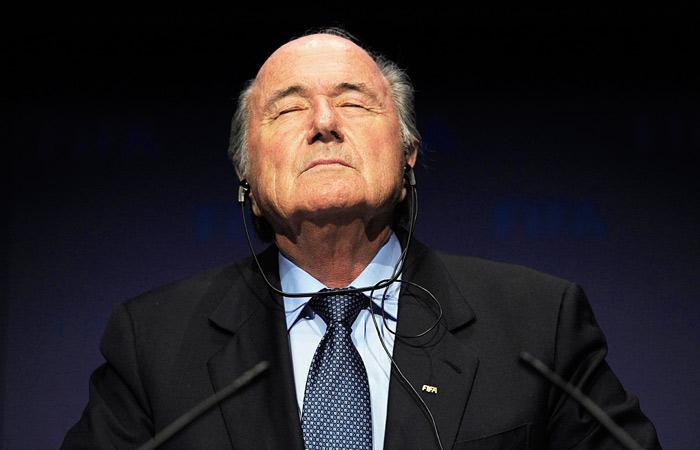 Блаттер обжаловал свое отстранение от футбола