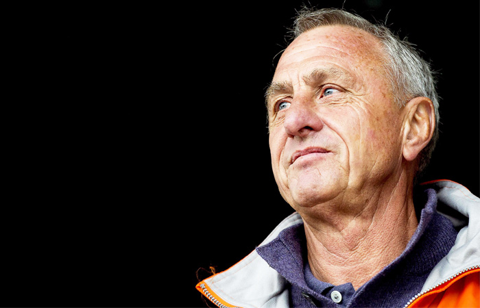 Умер голландский футболист Йохан Кройф