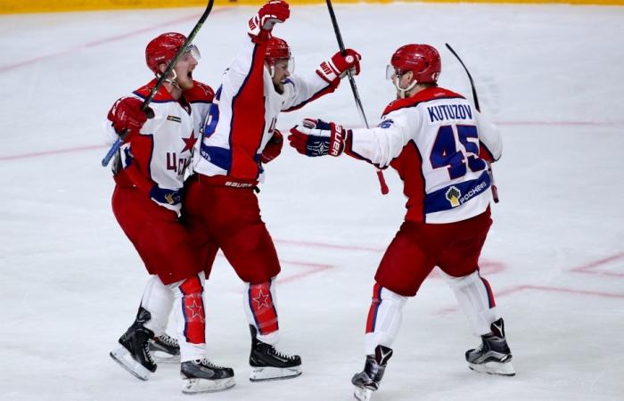 ЦСКА в четвертый раз выиграл у СКА и вышел в финал Кубка Гагарина