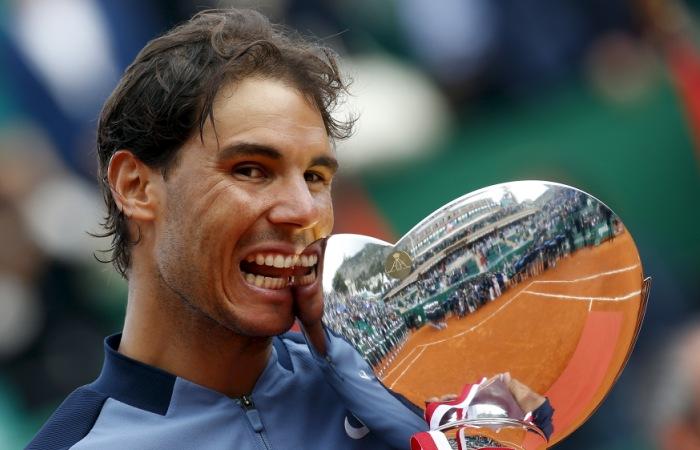 Надаль выиграл теннисный турнир в Монте-Карло
