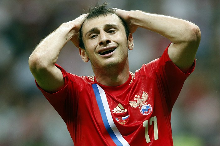 Алан Дзагоев не сыграет на Евро-2016