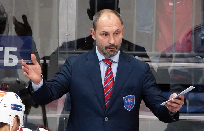 Сергей Зубов покинул пост главного тренера ХК СКА