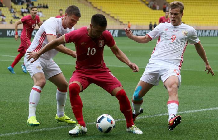 Россия сыграла вничью с Сербией в товарищеском матче в преддверии ЧЕ-2016