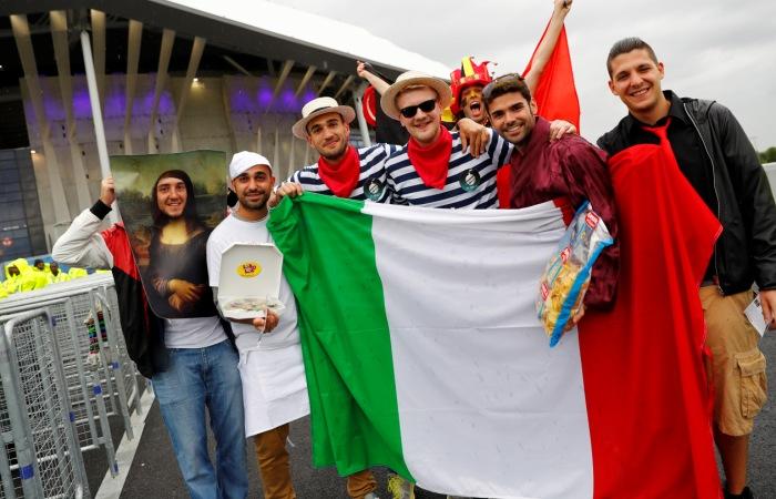 Бельгия - Италия. Онлайн