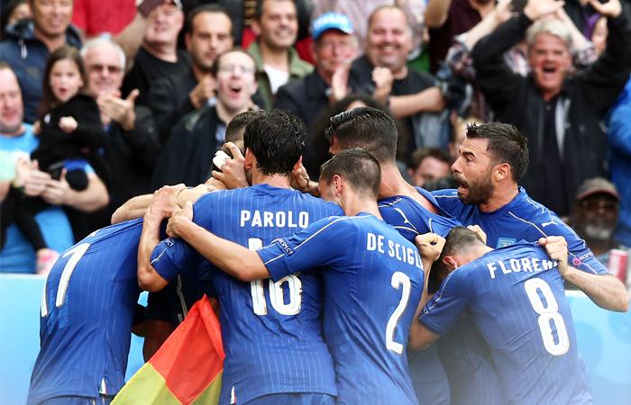 Италия победила Испанию и вышла в четвертьфинал Евро-2016