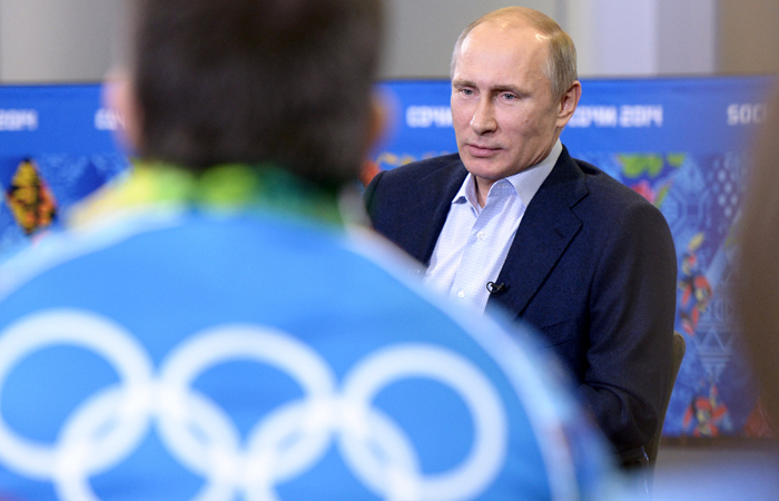 Путин не будет обсуждать с Бахом ситуацию с олимпийской сборной РФ