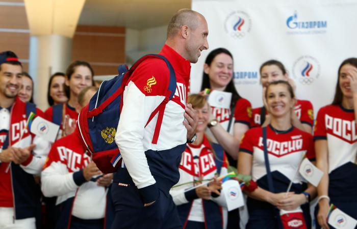 Волейболист Тетюхин будет знаменосцем сборной России на открытии Игр