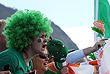 Фанаты Ирландии на женской гребле
