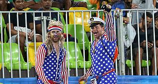 Болельщики Олимпиады в Рио