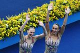 Синхронистки Ищенко и Ромашина выиграли ОИ в соревновании дуэтов