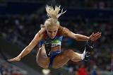 Российская легкоатлетка Клишина вышла в финал в прыжках в длину