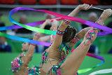 Российские гимнастки завоевали золото Олимпиады в Рио