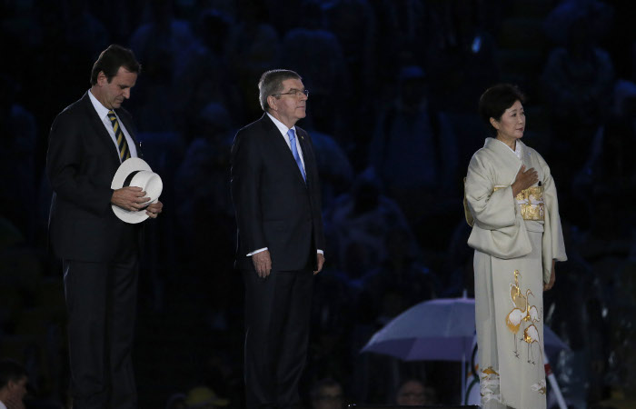 Глава МОК Томас Бах объявил летнюю Олимпиаду-2016 закрытой