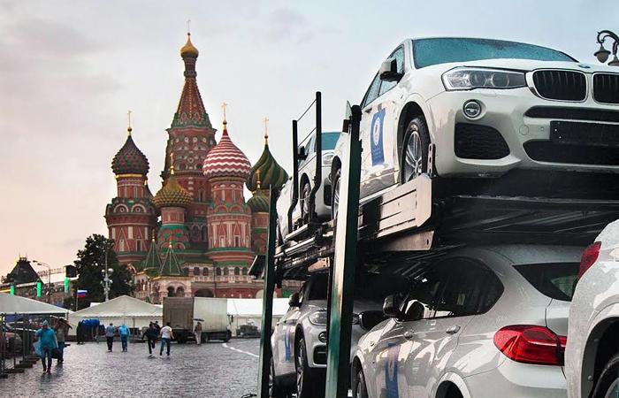 Призами для российских олимпийцев станут белые BMW X6