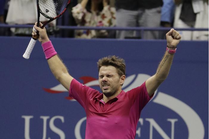 Вавринка победил Джоковича в финале US Open