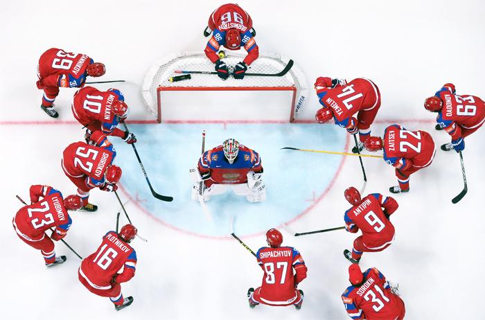 Назван расширенный состав сборной РФ по хоккею на Кубок Первого канала