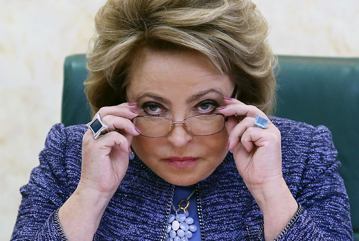Матвиенко предложила подать иск в связи с переносом ЧМ по бобслею из Сочи