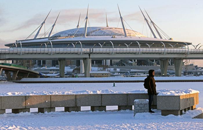 """Генподрядчик констатировал окончание строительных работ на """"Зенит-Арене"""""""