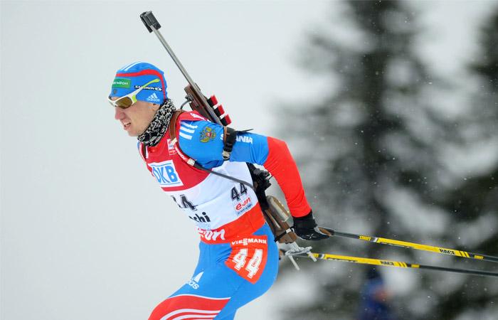 Россиянин Логинов выиграл индивидуальную гонку на ЧЕ по биатлону