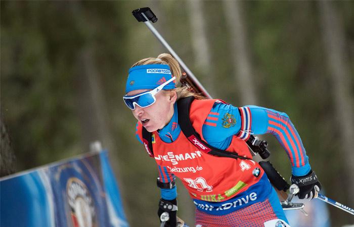 Российская биатлонистка Глазырина временно отстранена от соревнований