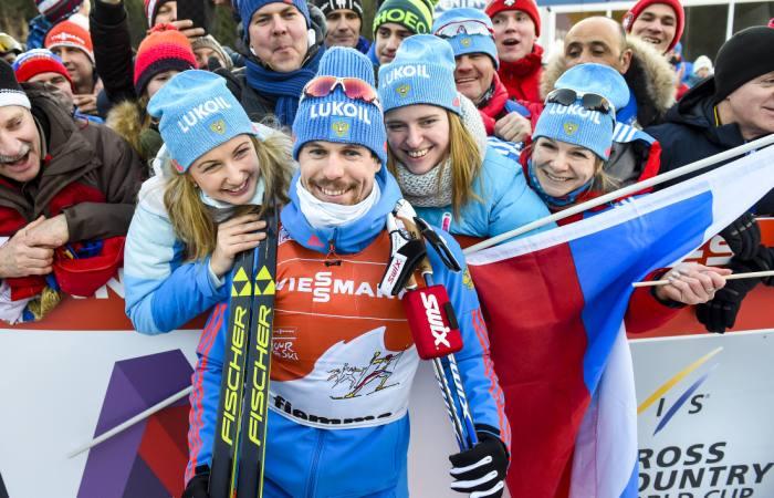 Россиянин Устюгов завоевал серебро в лыжном спринте на ЧМ