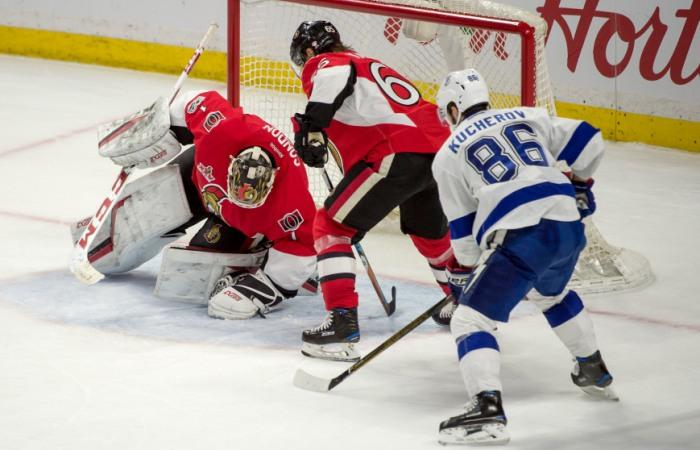 Россиянин Никита Кучеров признан лучшим игроком марта в НХЛ