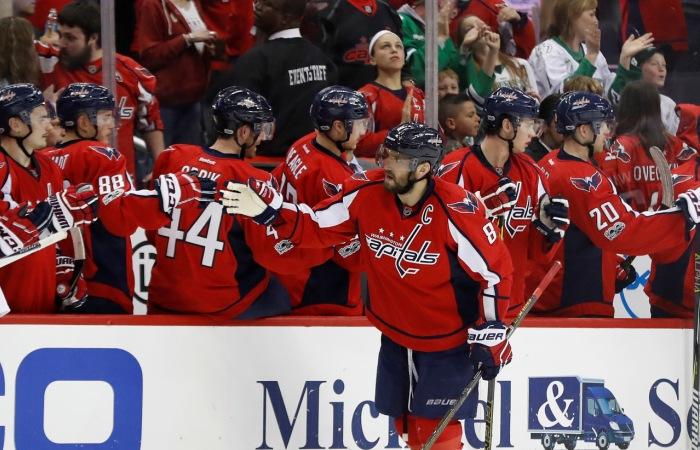 """""""Вашингтон"""" во втором сезоне подряд выиграл регулярный чемпионат НХЛ"""