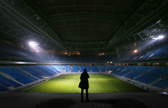 """В Петербурге заявили о необходимости переделать ряд работ на новой арене """"Зенита"""""""