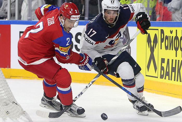 Сборная России по хоккею проиграла команде США на ЧМ-2017