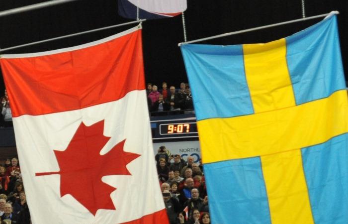 Канада - Швеция. Онлайн