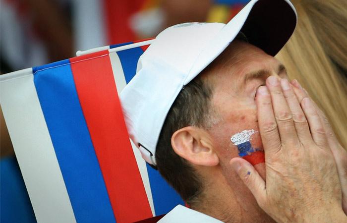 Сборная России опустилась на рекордно низкое место в новом рейтинге ФИФА