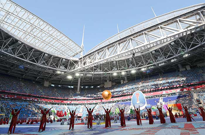 Церемония открытия Кубка конфедераций - фото 2 из 9