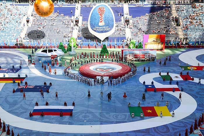 Церемония открытия Кубка конфедераций - фото 1 из 9