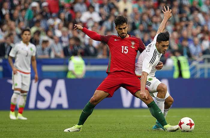 Португалия и Мексика сыграли вничью на Кубке конфедераций