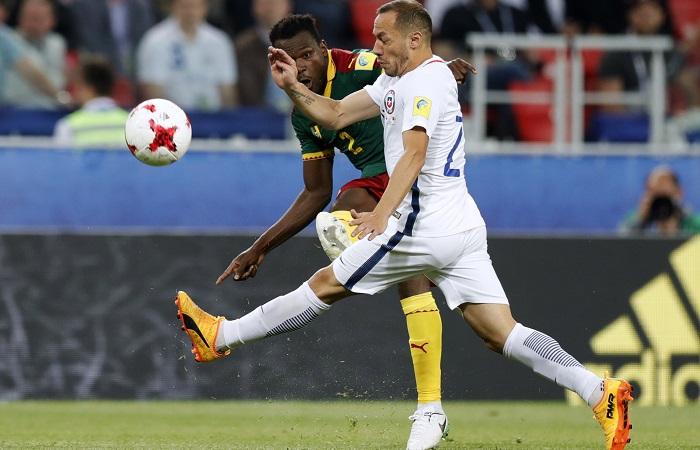 Сборная Чили обыграла Камерун в матче Кубка конфедераций