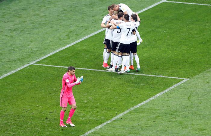 Сборная Германии обыграла Австралию в матче Кубка конфедераций
