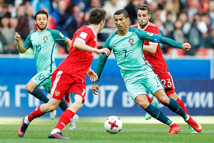 Россия уступила Португалии на Кубке конфедераций