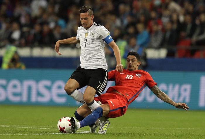 Германия и Чили сыграли вничью
