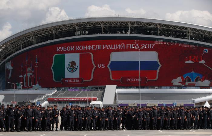 Мексика - Россия. Онлайн