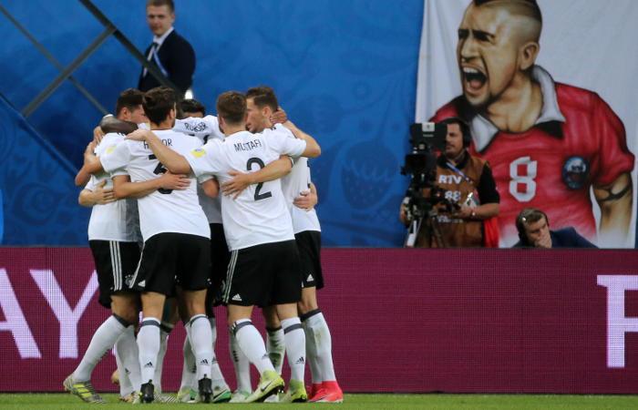 Германия выиграла Кубок конфедераций