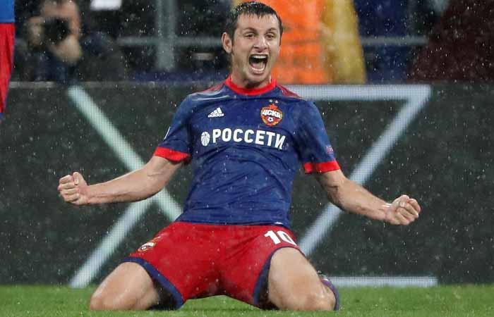 ЦСКА вышел в групповую стадию Лиги чемпионов